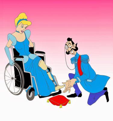 Disney and Disabled, Handicap, Wheelchair.